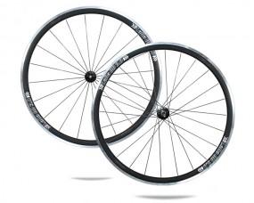 Albrecht Alu Laufradsatz LaRa BB 3.0 Profil 32mm, DT-Swiss 240s-schwarz
