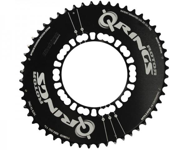 Rotor Q-Ring, Lochkreis 110 mm, Aero 52Z, außen, schwarz