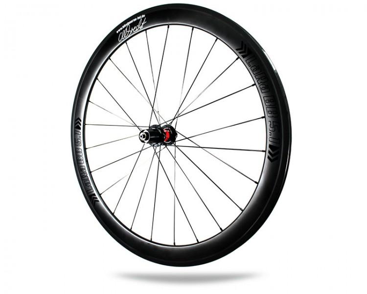 Albrecht Carbon Laufradsatz LaRa BB 5.1 Profil 50mm DT-Swiss 240s