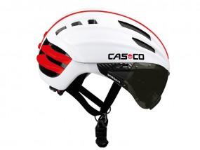 Casco SPEEDairo Helm mit Visier weiß