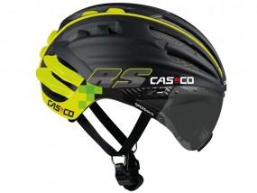 Casco SPEEDairo RS Helm mit Visier schwarz/neon
