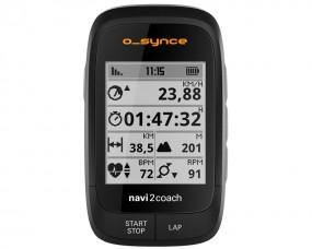 O-Synce navi2coach GPS Radcomputer