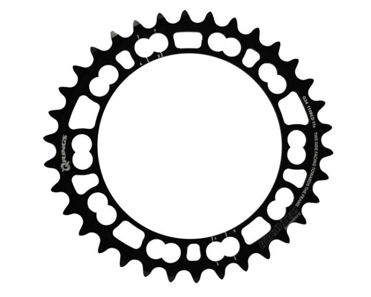 Rotor Q-Ring, Lochkreis 110 mm, 34Z, innen, schwarz